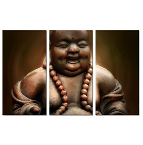 BWHome 3 stücke set 5D DIY Diamant Malerei Vollkreis Diamant Stickerei Mosaik triptychon buddha Bilder Dekorative Bild Home wandkunst geschenk, 30x50 CM x 3 -