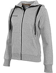 Stanno Chaqueta con capucha Centro Primo Mujer–Grey Mele, color multicolor, tamaño extra-large