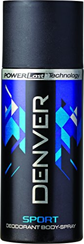 Denver Deo Blue Sport 150 Ml  available at amazon for Rs.180
