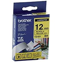 Brother Gloss Laminated LABELLING Tape – 12 ...