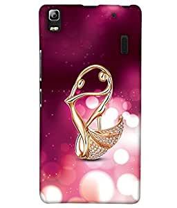 PrintHaat Designer Back Case Cover for Lenovo A7000 :: Lenovo A7000 Plus :: Lenovo K3 Note (beautiful diamond ring on pink and white background :: diamond jewellery :: love diamond :: diamond in gold ring)