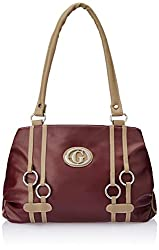Fostelo Women's Handbag (Maroon) (FSB-118)