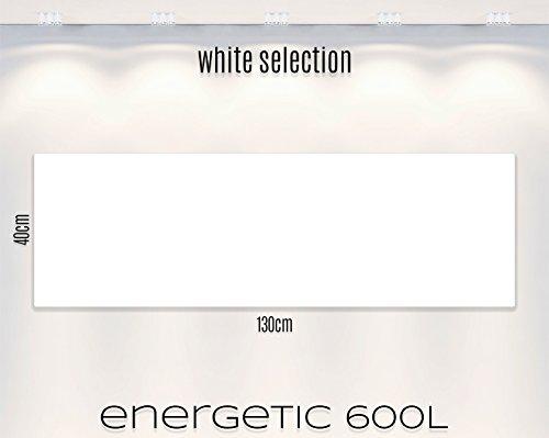 """ENERGETIC """"WHITE SELECTION"""" Infrarotheizung, 10 Jahre Herstellergarantie. CE-geprüft, nach TÜV Richtlinien in der eigenen Manufaktur gefertigt. Qualität muss eben nicht teuer sein!"""