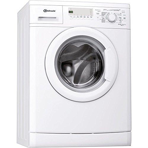 Bauknecht WAK 71 Waschmaschine Frontlader / 1400 UpM / 7 kg/weiß / Fertig in - Option / 15 Minuten Programm