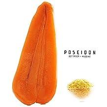 Poseidon Bottarga (uova di muggine selvatiche stagionate) Superfood del Mediterraneo dalla Sardegna Prodotto d'Italia 100~130 g