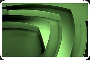 Nvidia Green Metal Poster enseigne marque 40x60cm