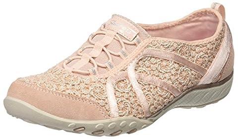 Skechers Damen Breathe-Easy-Sweet Darling Sneakers, Pink (Pksl), 38 EU