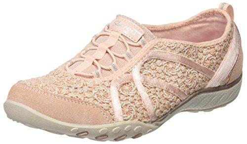 Skechers Damen Breathe-Easy-Sweet Darling Sneakers Pink (Pksl)