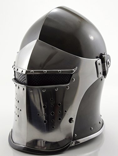 Kostüm 15th Century - Deluxe Italianstyle 15Th Century Barbute Helmet Costume Armor by ITDC