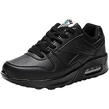 Zapatillas Calzado Aire Libre y Deportes Plataforma para Mujer con Cordones, QinMM Zapatos Gym Running