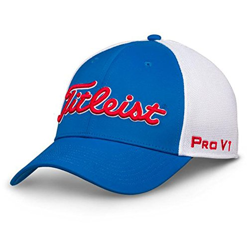 Titleist Casquette du Golf (Tour Sports Mesh) (Two-Tone Collection, Periwinkle, S/M)
