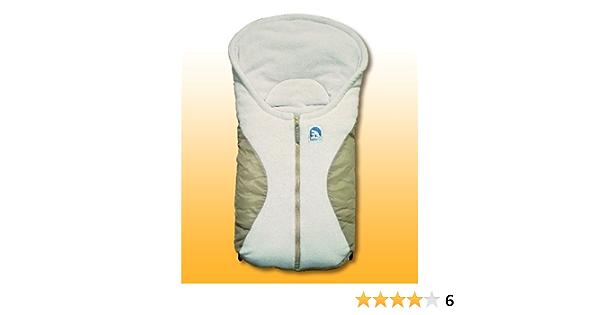 Eisbärchen Kleiner Fußsack Für Babyschalen Beige Sand Art 7963 Sb Baby