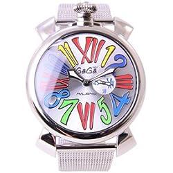 Gaga Milano Manueller Armbanduhr 5080.1versandkostenfrei Lager