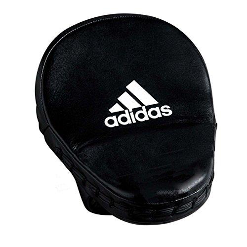 adidas Focus Mitt Leather Pratzen, schwarz, 26 x 17 x 8 cm