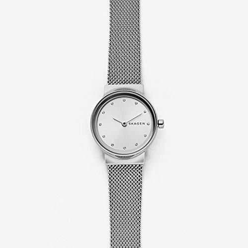 Skagen Ladies Freja Silver Dial Mesh Bracelet Watch SKW2715 Best Price and Cheapest