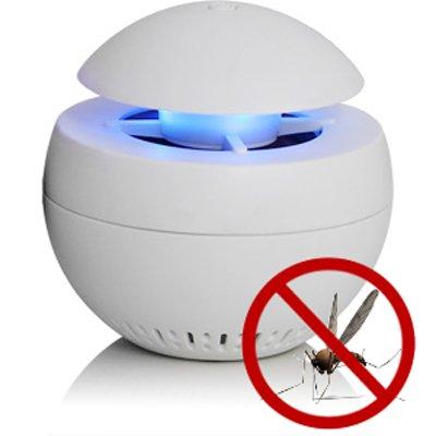 Maibang 3in1 Nachtlicht Duftlampe Insektenfalle LED Schlummerlicht Öllampe Insektenvernichter elektrisch WEISS