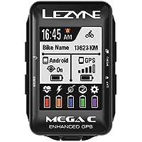 """Lezyne Mega C Bicicleta Negro rastreador GPS - Rastreadores GPS (5,59 cm (2.2""""), 33,8 x 45,1 mm, 240 x 320 Pixeles, 33,3 día(s), Recargable, 32 h)"""