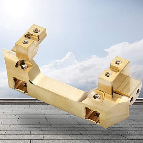 Front Servo Mount Messing Ruder Rack Stoßstange Barrier für Traxxas für TRX-4, Holz, Free Size (Stoßstange Rack)
