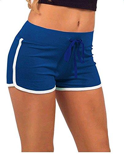 Westeng - Short de sport - Femme Bleu