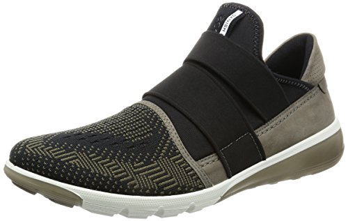 Ecco Intrinsic 2, Baskets Basses Homme Vert (50321Tarmac-Black/Tarmac)