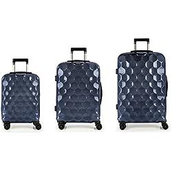 Set 3 Maletas C22-M-L Gabol Air Azul