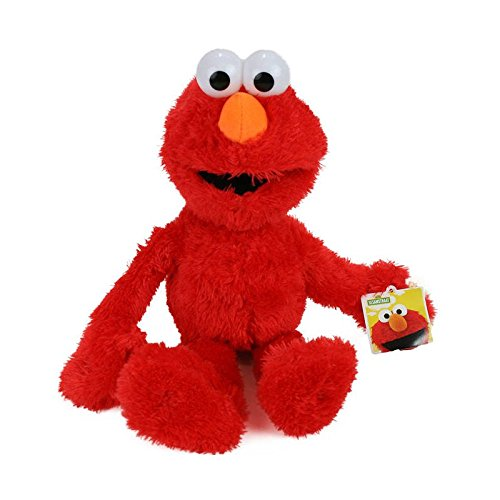 Bee-Square Figure Plush Sesame Street Elmo 22 cm