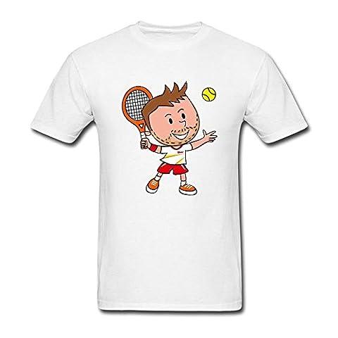 UKC5BD Men's Tennis Man players Stan Wawrinka T Shirt