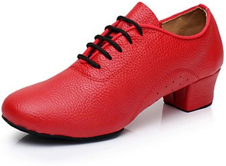 Wuyulunbi@ Donne formazione scarpe da ginnastica ginnastica ginnastica rivestimento tacco basso Rosso Nero 1,rosso,US8   EU39   UK6   CN39 | Nuovi Prodotti  | Uomini/Donne Scarpa  014af4
