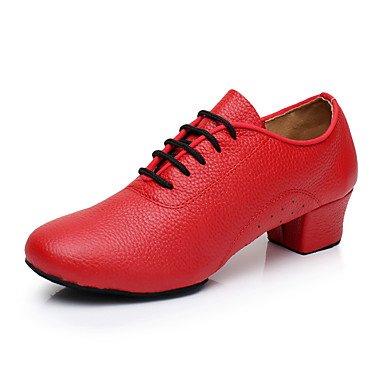 Wuyulunbi@ Donne formazione Sneaker rivestimento tacco basso Rosso Nero 1,rosso,US8 / EU39 / UK6 / CN39 Noi9.5-10 / EU41 / UK7.5-8 / CN42