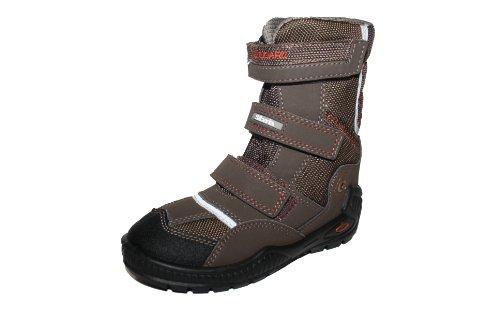 Siesta by Richter Chaussures pour enfants 44.6612garçon bottes Marron - Braun (muskat/hasel/schwarz 0004)