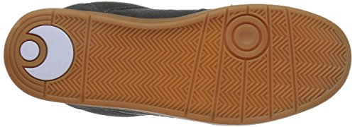 Osiris Protocol SLK Hommes Daim Chaussure de Basket Gray-Gum
