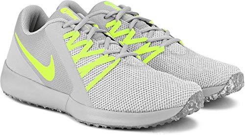 NIKE Men's Varsity Compete Trainer Grey/Vlot-Vast Grey Running Shoes (AA7064-090)