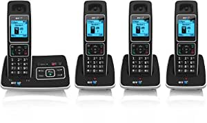 BT 6500 Cordless DECT Phone with Answer Machine and Nuisance Call Blocking - Pack of 4