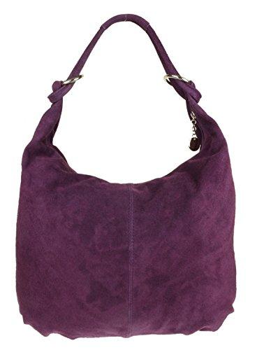 Designer Inspired Bag Purse Handtasche (Girly HandBags Hobo Italienische Wildleder Schultertasche)