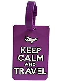 NOV@GO® Etiquette bagages, étiquette valise , porte adresse, etiquette valise de voyage