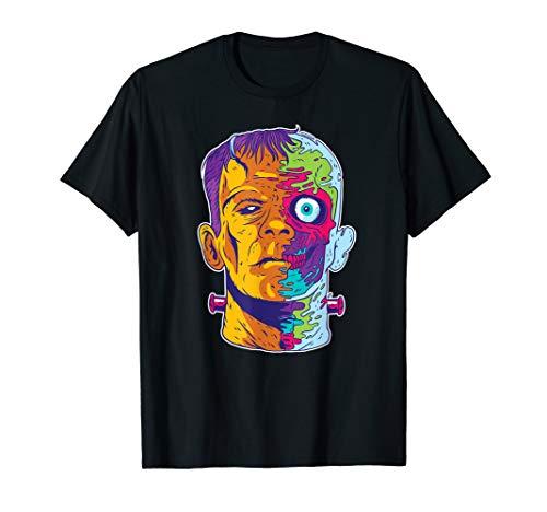 Cartoon Horror Grussel Fun T-Shirt ()