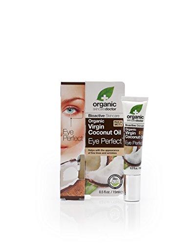 Dr Organic Virgin Coconut Oil Eye Perfect 15ml (Papaya-saft Bio)