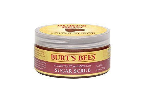 burts-bees-100-natural-cranberry-and-pomegranate-sugar-scrub-8-ounces-by-burts-bees