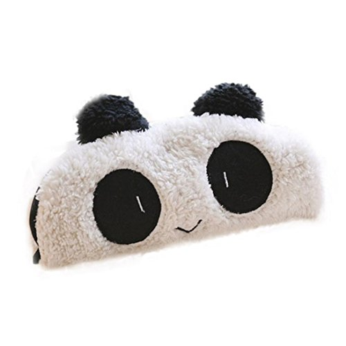 Oyedens Estuches School Girl Estuches Escolar Estuches Bolis Panda Linda Felpa Suave Bolsillo De La Pluma Del Maquillaje CosméTico Del Bolso De La Cremallera De La