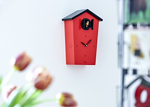 KOOKOO BirdHouse limited edition red wall clock with 12 natural bird on sports house design, food house design, cooking house design, training house design, home house design, paper house design, family house design, external house design, digital house design, apple house design, manufacturing house design, science house design, electronic house design, architecture house design, business house design, english house design, school house design, online house design, mouse house design, movie house design,