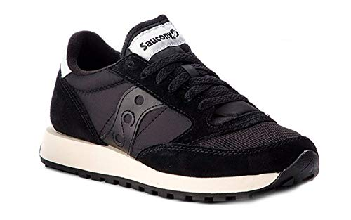 finest selection 7cdec 88bf3 Saucony Jazz Original Vintage, Zapatillas de Cross para Mujer, Negro Black  9, 40.5