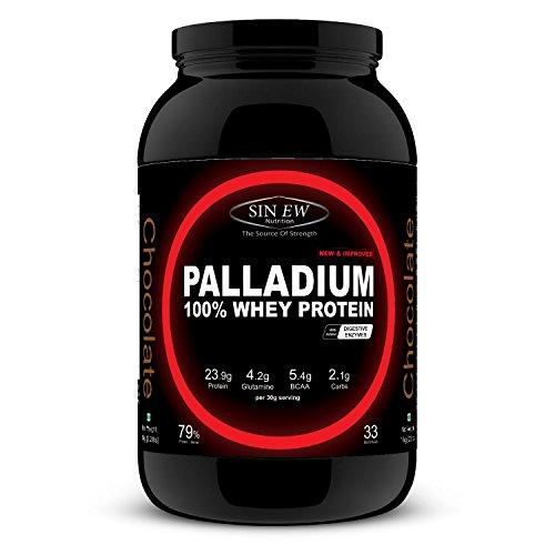 Sinew Nutrition Palladium Whey Protein, 1 kg (Chocolate Flavour)