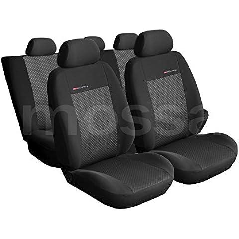 ELEGANCE (E3) (totalmente a medida) - Juego de fundas de asientos a: Ford Transit CONNECT II - (2013-….)