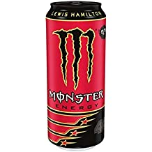 Lewis Hamilton 44 Monster Energy Drink Refreshing Stimulating 500ml Pack of 12