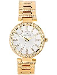 Escort Analog Silver Dial Women's Watch- 2715 GM