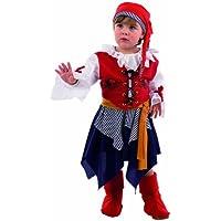 Limit Sport MB252 - Disfraz de pirata para nia (talla 2, incluye vestido,