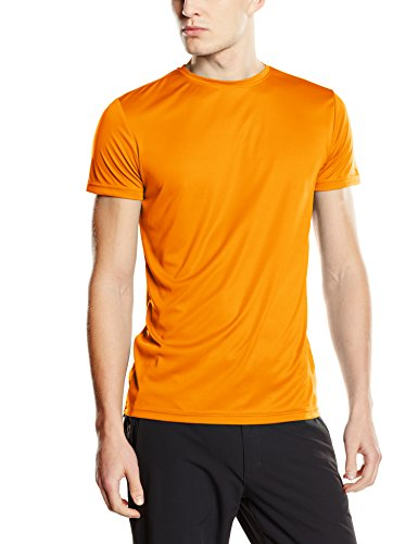 Stedman Apparel Herren T-Shirt Active Sports-t/st8000 Orange - Cyber Orange