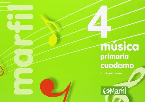 Música. EP 4 - Cuaderno 4, Edición 2012 por Vv.Aa.