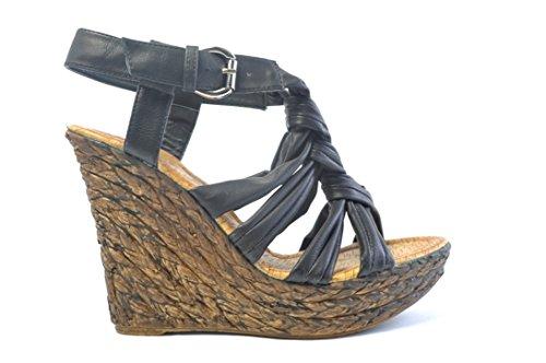 Sandali da donna Sandalette diversi modelli, dimensioni 37–41, da donna a sabot zoccoli 3839 Nero