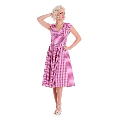 Hell Bunny Kleid LAZY RIVER DRESS pink Pink